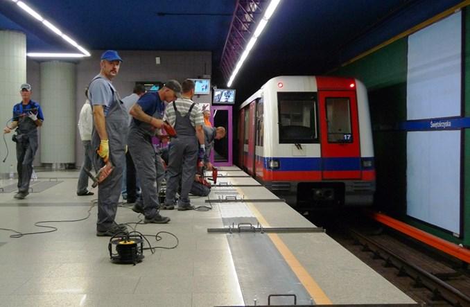 Stacje metra zamknięte w weekendy. Harmonogram utrudnień