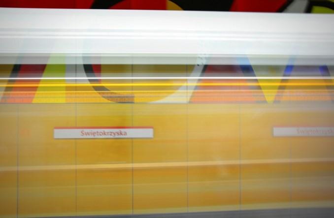 Metro: Kilkadziesiąt elementów informacji na II linii do poprawki