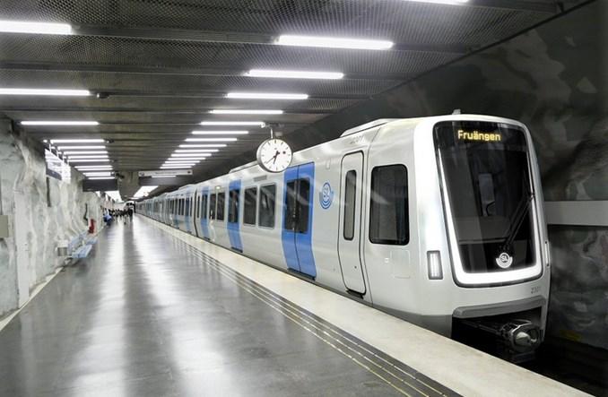 Bombardier zaprezentował wygląd składów metra dla Sztokholmu