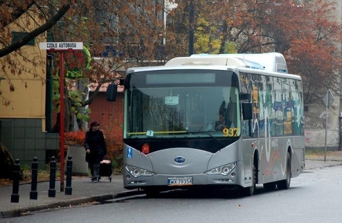 Warszawa: Elektrobusem do rezerwatu na Dewajtis