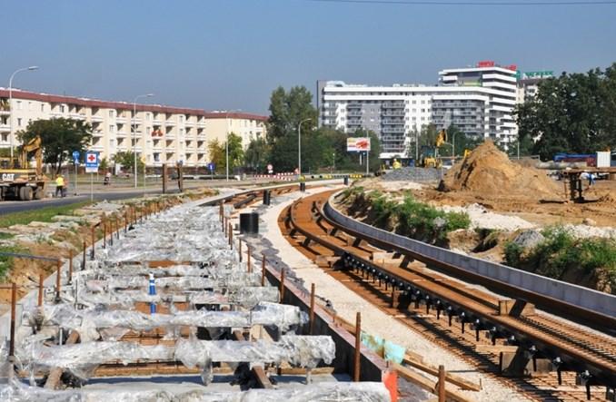 Tramwaj na Tarchominie zbliża się do półmetka. Otwarcie wcześniej?