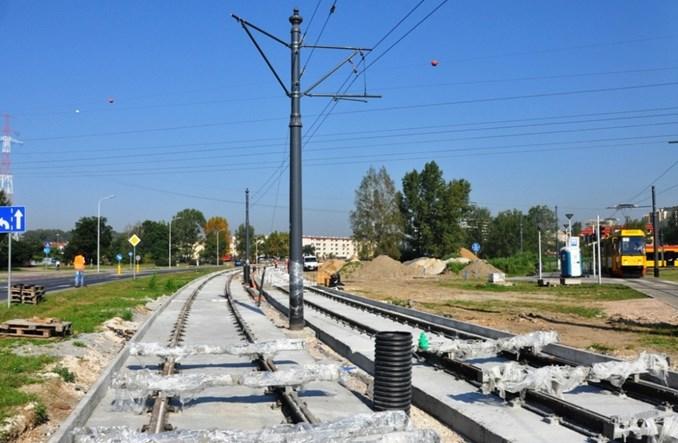 Warszawa: Tramwaj do Winnicy od razu z dwiema jezdniami. Wbrew obietnicom