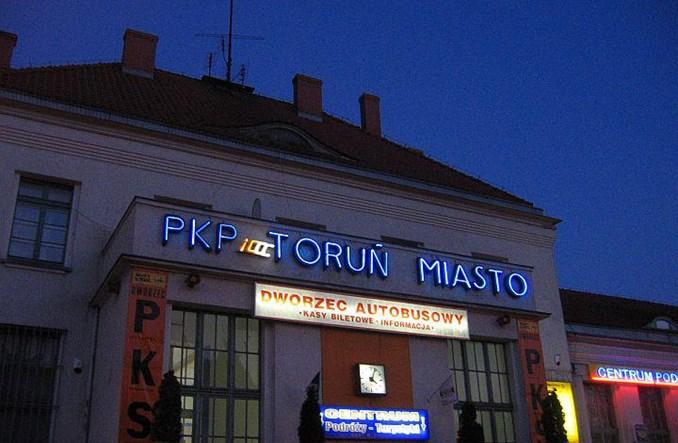 Węzeł przy stacji Toruń Miasto zmieni oblicze transportu miejskiego Torunia