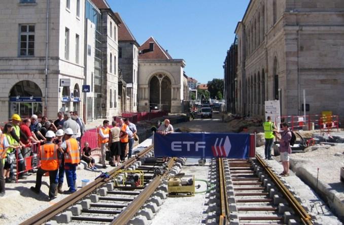 Francja: Po 60 latach Besançon powraca do tramwajów