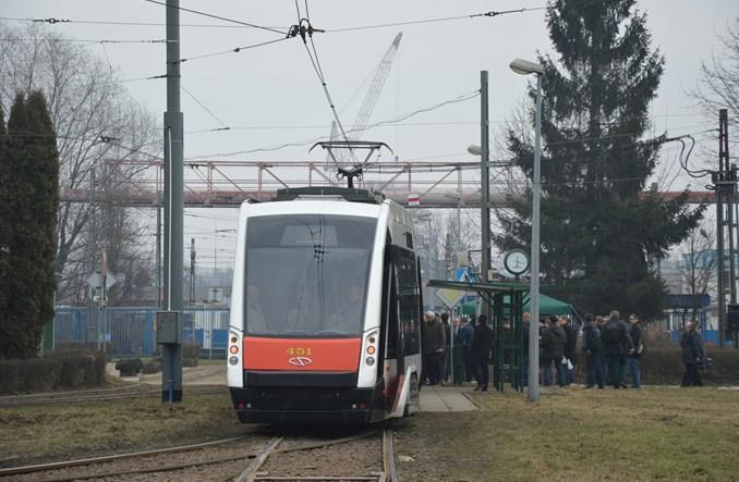Solaris Tramino na testach w Krakowie