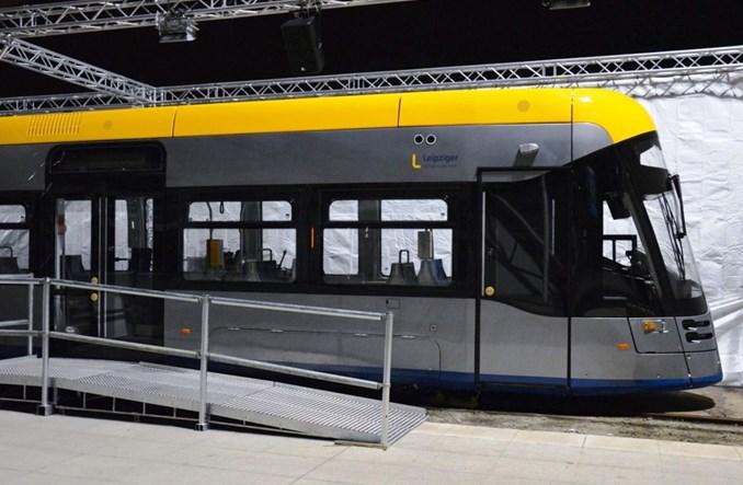Najnowszy tramwaj Solarisa – Tramino XL – zaprezentowany w Lipsku