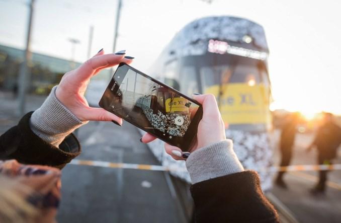 Pierwszy tramwaj Solarisa w Lipsku. Na razie opakowany