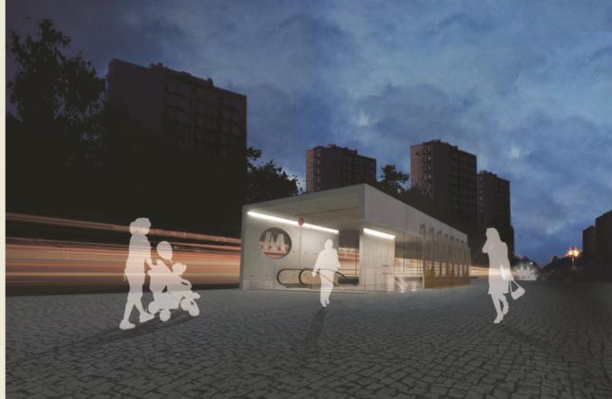 Metro: Przy budowanej stacji Trocka powstanie parking przesiadkowy