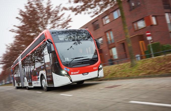 43 autobusy elektryczne dla Eindhoven. Za 4 lata każdy będzie taki