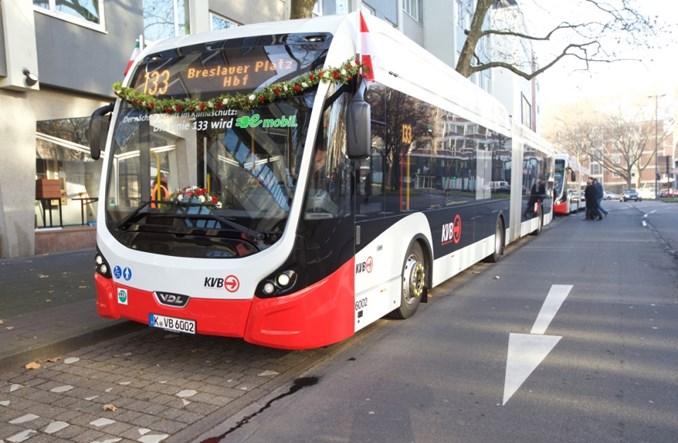 Kolonia. Miasto uruchomiło całkowicie elektryczną linię autobusową
