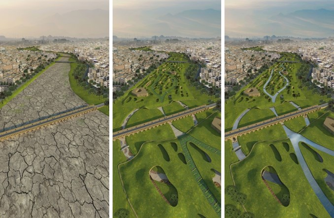 Co stanie się z wysychającą rzeką w Iranie? Projekt polskiego architekta prowokuje dyskusje