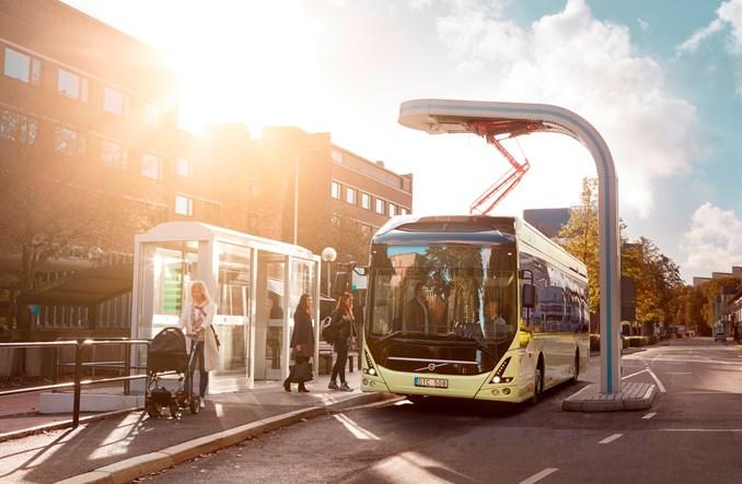 Elektryczny autobus Volvo w sprzedaży od przyszłego roku