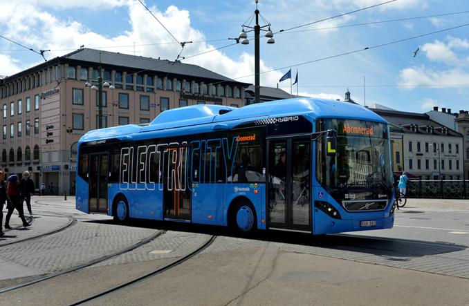 Baterie z elektrobusów Volvo posłużą za magazyn energii słonecznej