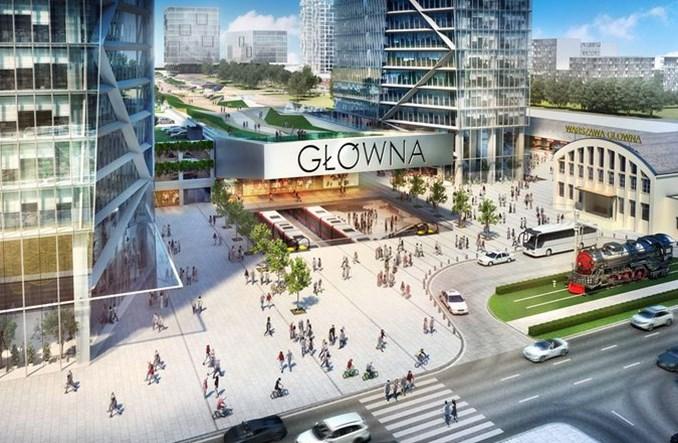 Jaka Warszawa Główna? PKP SA chce tkanki miejskiej