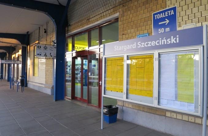 Stargard na kolei nadal Szczeciński. Kiedy zmiana?