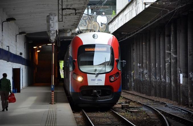 WKD poczeka z remontem zapuszczonych przystanków w centrum Warszawy