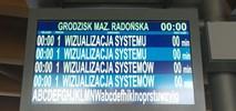 Informacyjna rewolucja WKD. Kończy się montaż ekranów na peronach