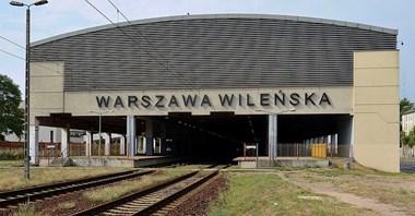 Warszawa Wileńska: Wejście wciąż tylko od strony galerii