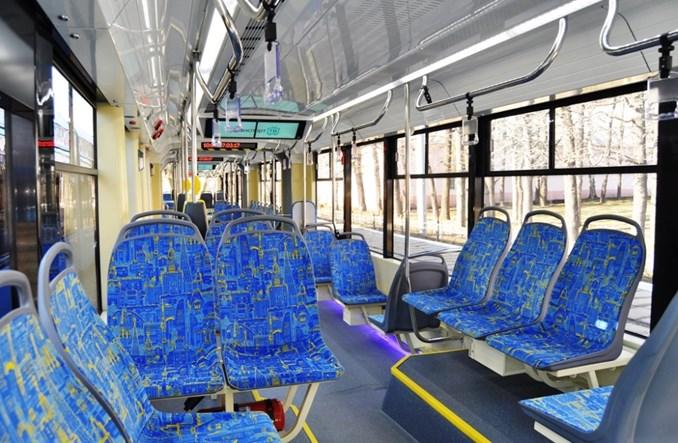 Pierwsze nowe tramwaje wożą już pasażerów w Moskwie