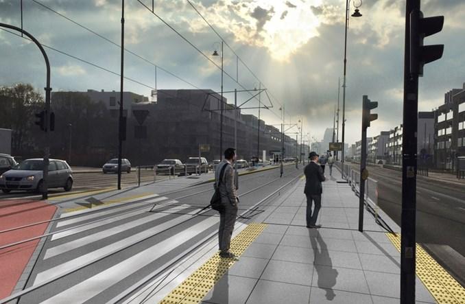 Tak będzie wyglądać tramwaj z Woli do Wilanowa (wizualizacje)