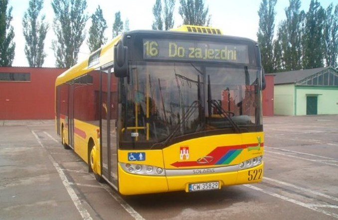 Włocławek kupuje dwa nowe autobusy. Najlepiej Solarisy