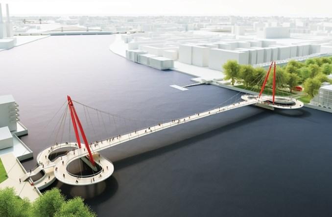Londyn. Architektoniczne perełki nad Tamizą. Koncepcje nowego mostu
