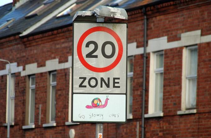 Edynburg zwalnia do 20 mil/h. W prawie całym mieście