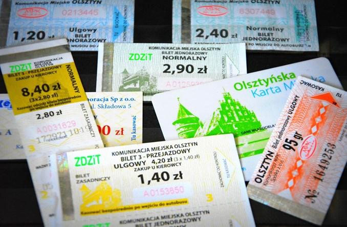 Olsztyn wprowadza czasówki i obniża ceny biletów