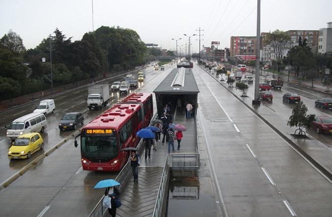 Jak Bogota wysiadła z samochodu