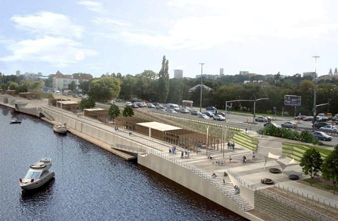 Warszawa. Skanska zbuduje bulwary. Z plażą i amfiteatrem