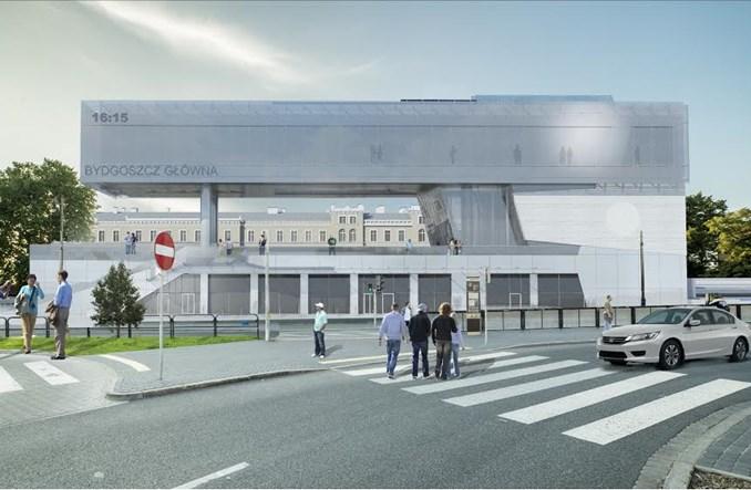 Budimex z umową na budowę nowego dworca w Bydgoszczy