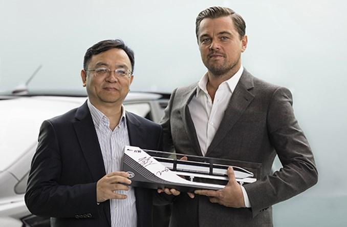 BYD ma nowego ambasadora marki. To Leonardo DiCaprio