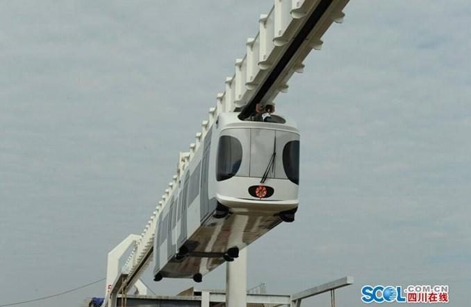 Chiny. Monorail w kształcie pandy testowany w Chengdu