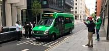 Londyn. Aplikacja z własnym autobusem