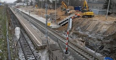 Wkrótce otwarcie nowego peronu w Piasecznie