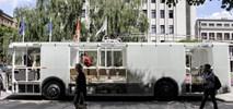 Kowno. Litwini testują przezroczysty autobus elektryczny