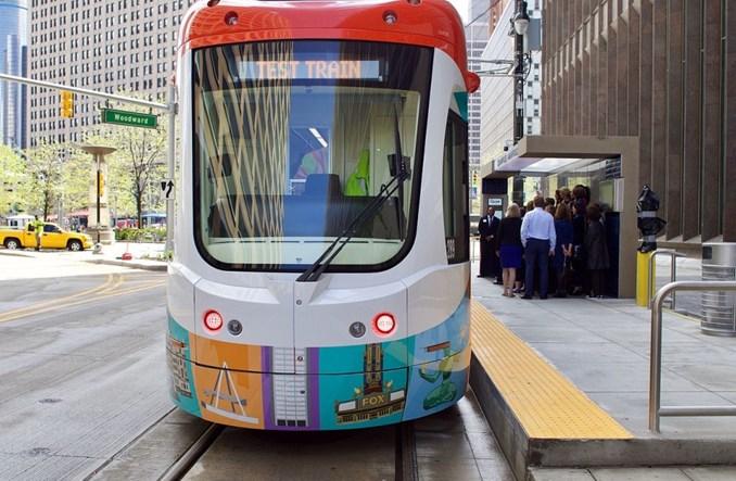 Detroit. Reanimowany tramwaj, czyli kłopoty z szyną w USA