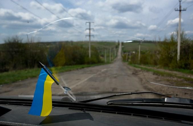 Korespondencja z Donbasu. Autobusem przez linię frontu