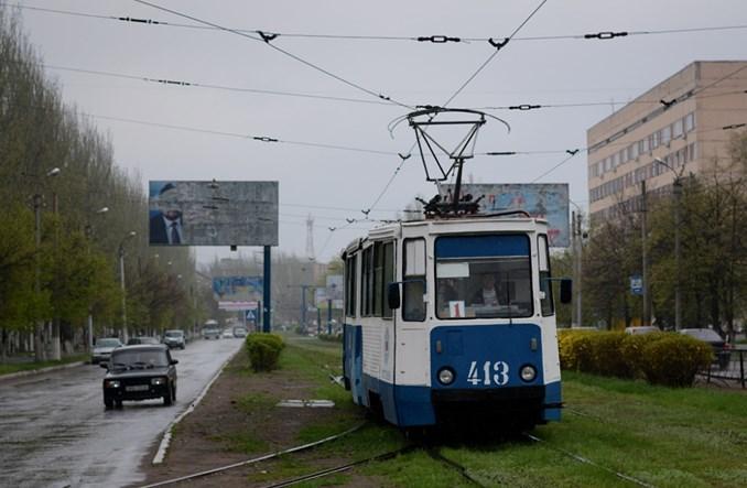 Korespondencja z Donbasu. Tramwaje pod ostrzałem