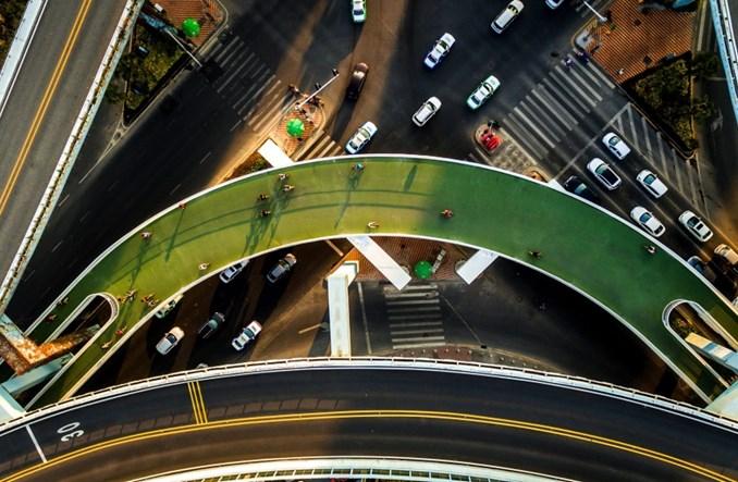 Chiny. Najdłuższa na świecie podniebna trasa rowerowa