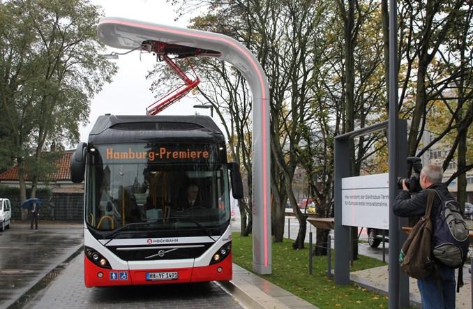 Hamburg. Siemens i Volvo zaprezentowały nową hybrydę elektryczną