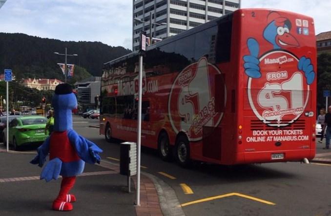 ManaBus, czyli czerwone autobusy w Nowej Zelandii