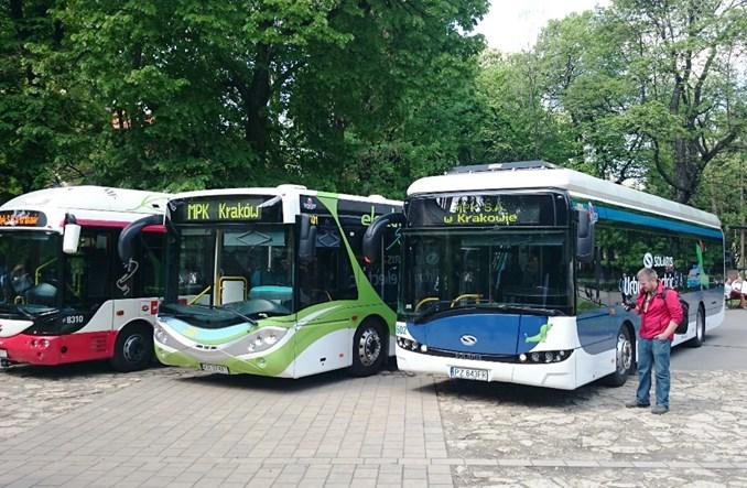 Kraków polubił autobusy elektryczne. Kupuje 20 kolejnych