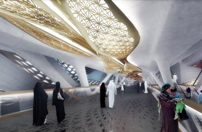 Rijad. Metro od Zahy Hadid