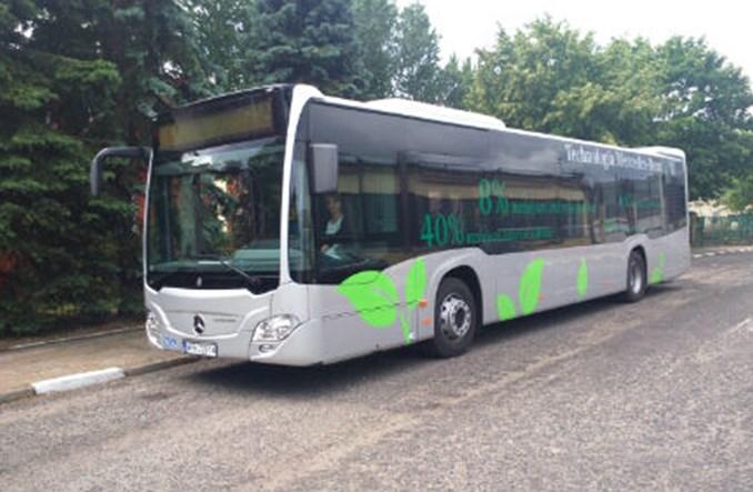 Gdańsk przetestuje autobus Mercedes Citaro 628 02