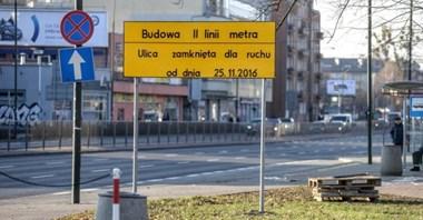 Budowa metra wyłączyła priorytet tramwajów. Ale nie na stałe