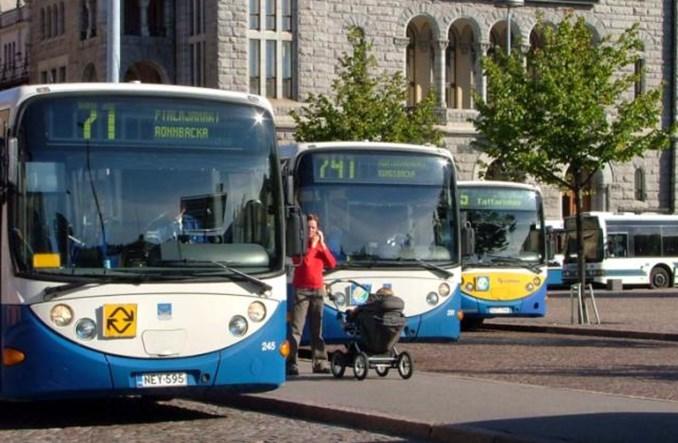 Autobus elektryczny Ebusco w Finlandii