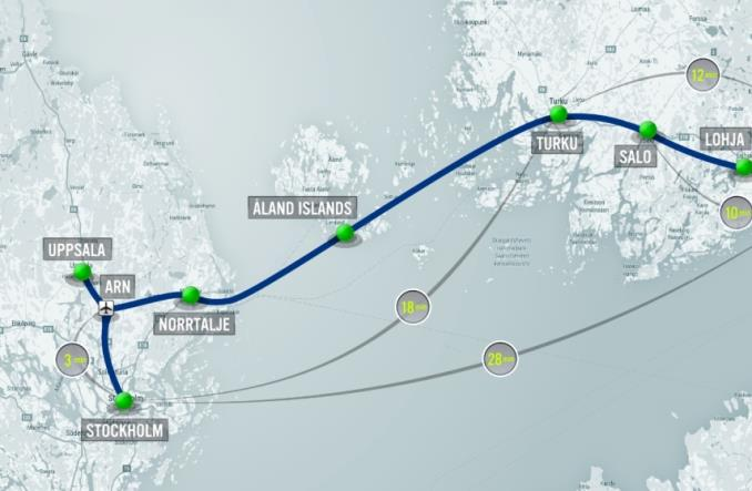 Jest pierwszy projekt hyperloopa. Helsinki – Sztokholm za 19 mld euro