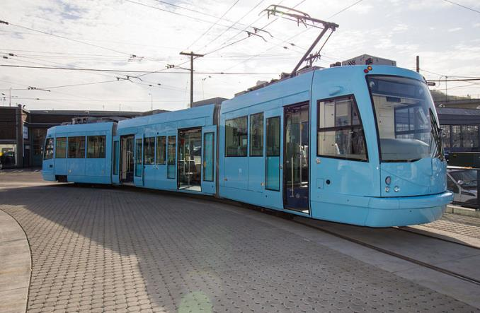Czeski tramwaj na baterie w Seattle