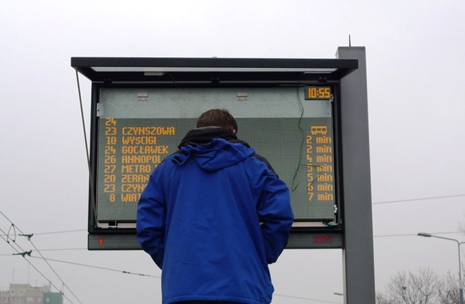 Toruń: System informacji pasażerskiej niezbędnym uzupełnieniem